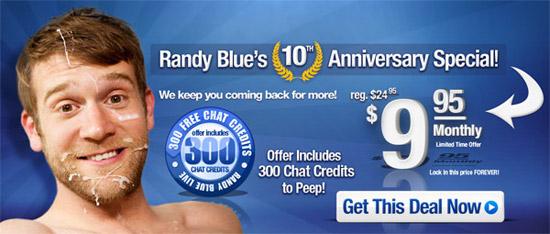 Randy Blue discount