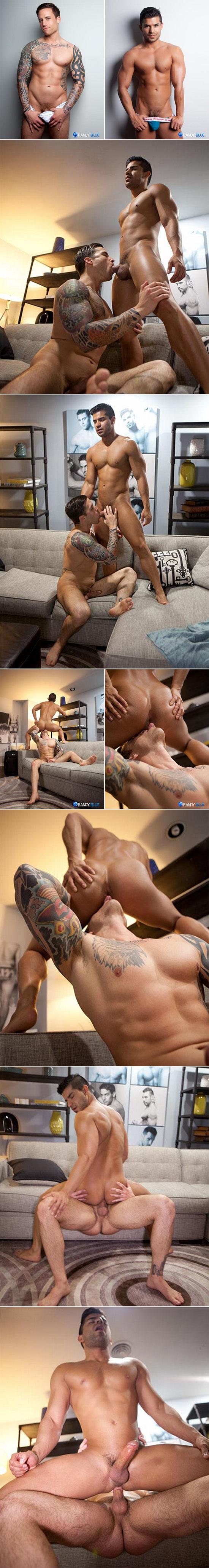 Jordan Levine pounds Nicco Sky's ass