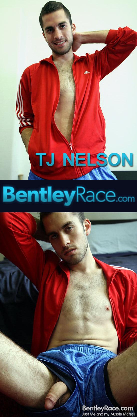 TJ Nelson jerks his uncut cock