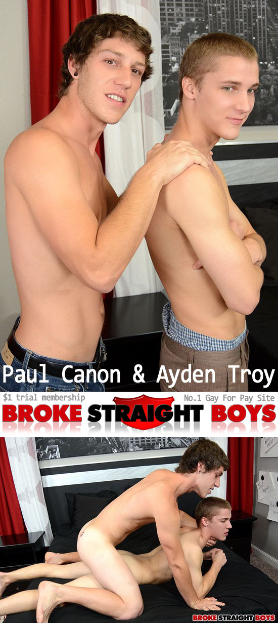 Paul Canon fucks Ayden Troy