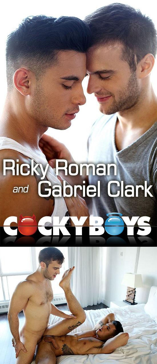 Gabriel Clark fucks Ricky Roman