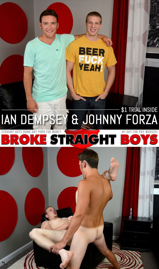 Ian Dempsey barebacks Johnny Forza