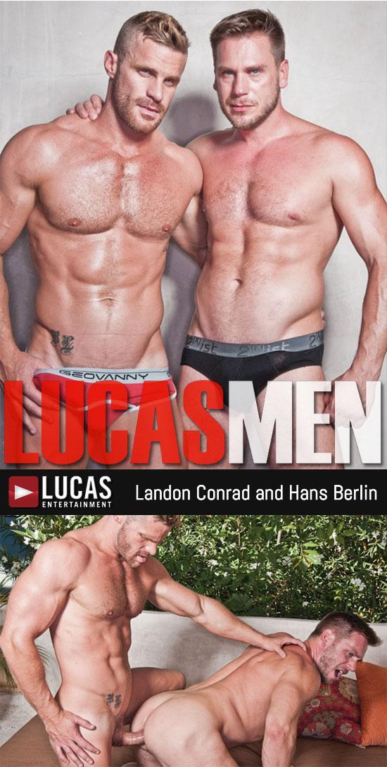 Landon Conrad and Hans Berlin