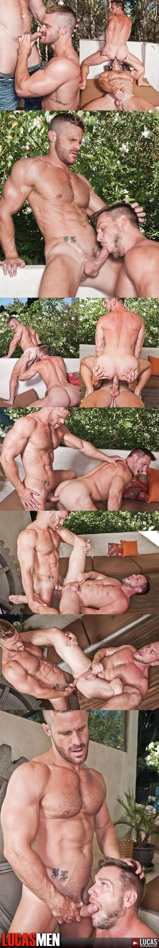 Hans Berlin bottoms for Landon Conrad