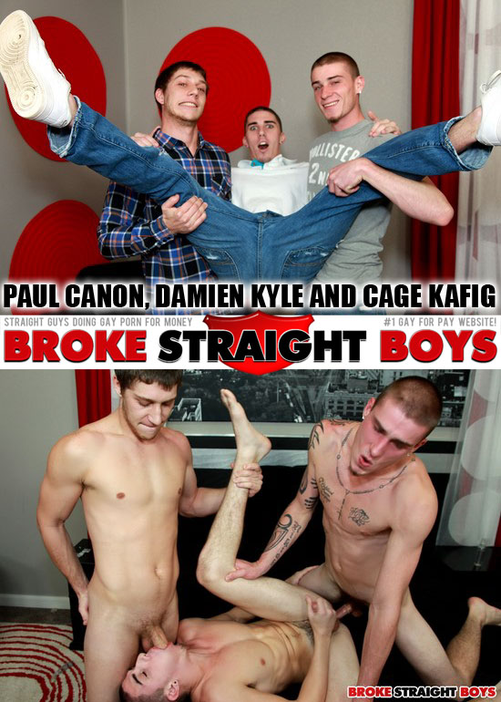 Paul Canon, Damien Kyle and Cage Kafig