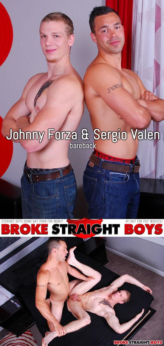 Sergio Valen barebacks Johnny Forza