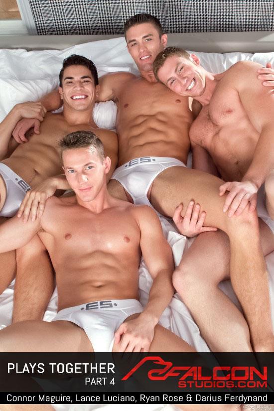 Connor Maguire, Ryan Rose, Lance Luciano, Darius Ferdynand