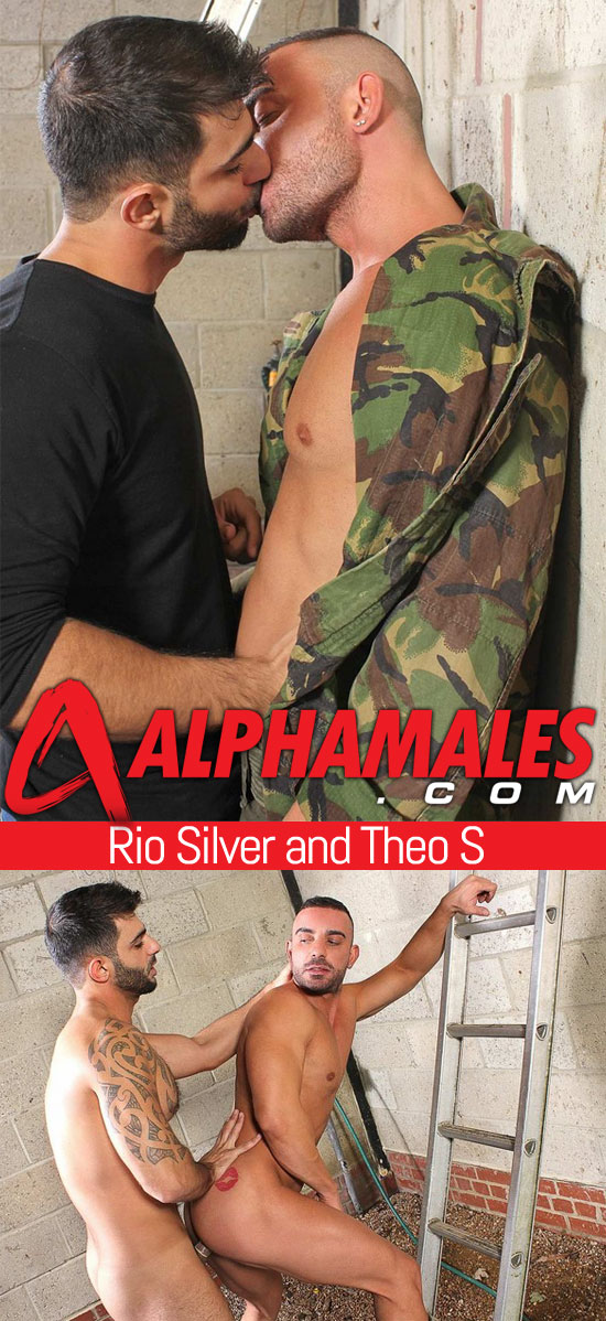 Rio Silver fucks Theo S at Alpha Males