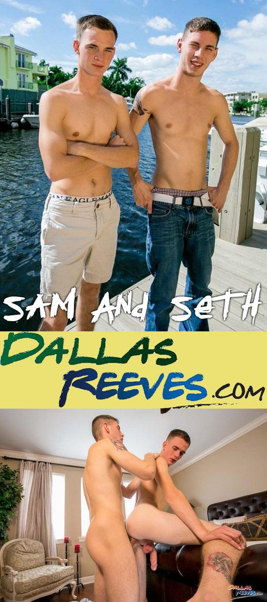 Sam and Seth in a bareback flip-fuck