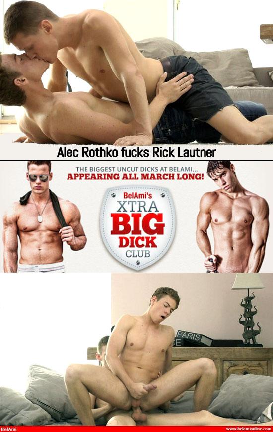 Alec Rothko barebacks Rick Lautner