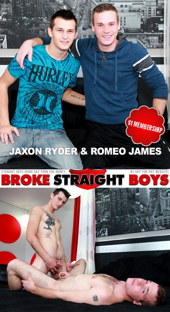 Jaxon Ryder and Romeo James bareback