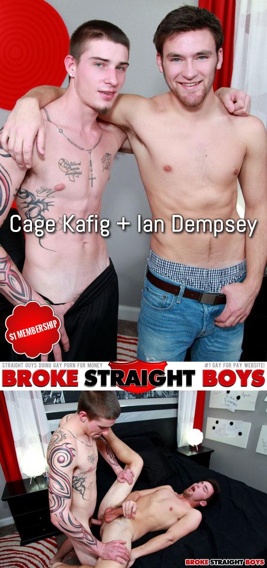 Cage Kafig fucks Ian Dempsey