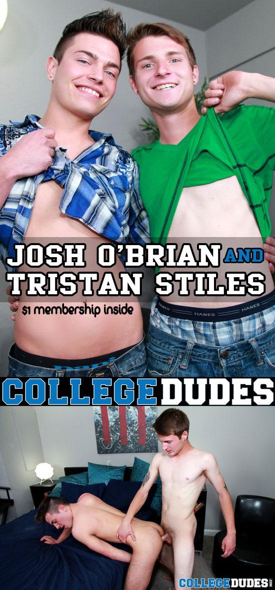 Josh O'Brian fucks Tristan Stiles