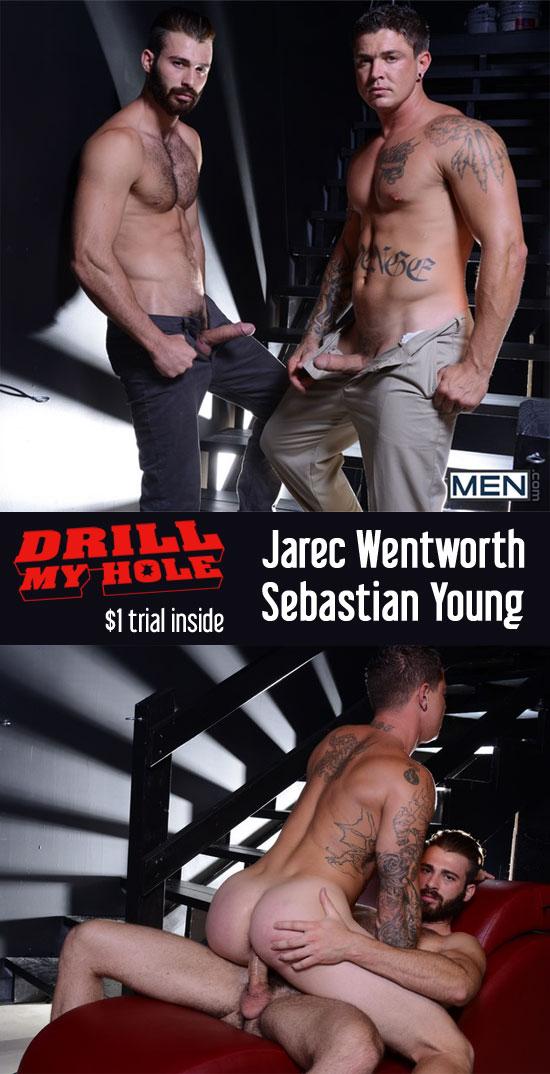 Jarec Wentworth and Sebastian Young